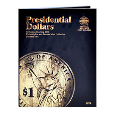 COIN FOLDER - PRESIDENTIAL DOLLARS (2012-2016) - VOLUME 2 - WHITMAN #2276
