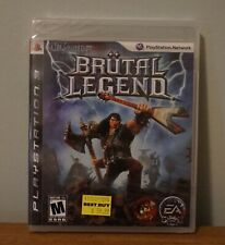 New! Brutal Legend (Sony PlayStation 3) U.S. Retail Version