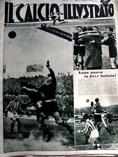 IL Calcio Illustrato 05/01/1950 Udinese Arsenal Taranto 3-0 - Juventus ba [GS35]