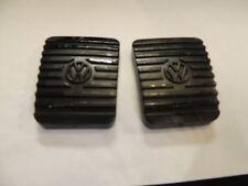 VW VANAGON 80-92 PEDAL PADS BRAKE+CLUTCH OEM NOS GERMAN NEW PAIR BIN#5AVW