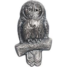 2019 Mongolia 1000 Togrog Ural Owl Silver Coin