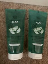 2 X NEW The Body Shop Aloe Multi-Use Soothing Gel 200ml - After Sun, Cooling