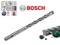 Bosch SDS Plus 5X Masonry & Concrete Hammer Drill Bit 4 Flute Design 5mm -16mm