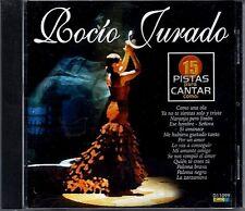 ROCIO JURADO - 15 Pistas Para Cantar Como - CD 2002 - Playbacks - Libreto Letras