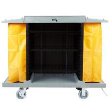 Lavex Lodging Hotel / Housekeeping Cart - Large Four Shelf