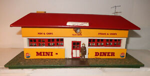 American Flyer 1952 Version 275 Red Diner Mini Craft 1000 Diner Close to New