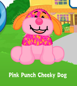 Webkinz Pink Punch Cheeky Dog Virtual PET Adoption Code Only Messaged Webkinz!!!