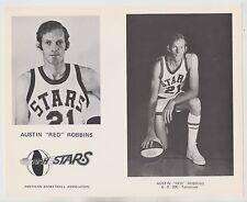 AUSTIN RED ROBBINS UTAH STARS ABA ORIGINAL 8X10 TEAM ISSUED PRESS PHOTO