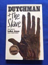 DUTCHMAN & THE SLAVE - FIRST EDITION BY LEROI JONES