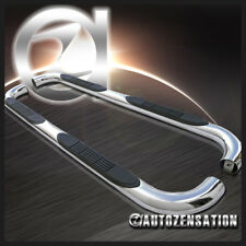 """97-03 Ford F150 Super/ Extended Cab 3"""" Chrome S/S Running Boards Side Step Bar"""