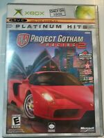 Project Gotham Racing (Microsoft Xbox, 2001) Complete Tested & Working