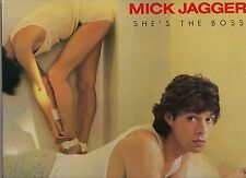 """MICK JAGGER - PROMO LP """"SHE'S THE BOSS"""" - The Rolling Stones"""