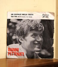 Beat Ita - Gianni Pettinati - Un cavallo nella testa / Vai vai - Cetra JB 229