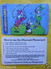 telefonkarten 1997 phone cards 10 units emy ely evy paperina paperino topolino