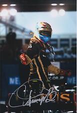 Vitaly PETROV SIGNED 12x8 Photo Renault Lotus AFTAL Autograph COA Formula 1