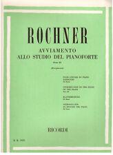 Rochner: Avviamento Allo Studio Del Pianoforte Parte III - Ricordi