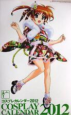 Magical Girl Lyrical Nanoha etc cosplay calendar 2012 promo strike witches
