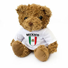 NUOVO-MESSICO Bandiera Teddy Bear-Carino COCCOLONE SOFT-MESSICANO REGALO