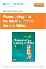 Pharmacology Online for Pharmacology and the Nursing Process by Kathy Rose,...