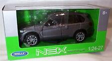 Welly Diecast 1:24 BMW X5 Metallic Grey  - 24052 New in Box