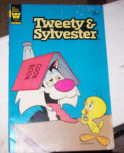 tweety & sylvester # 116  western publishing 1982  whitman variant