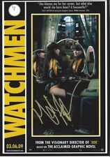 "Malin Akerman  - Hand Signed Autograph Photo 8x12"" - Watchmen"