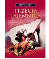 TRZECIA TAJEMNICA Polska Książka Book Steve Berry Objawienia Fatima Watykan