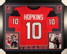 DeAndre Hopkins Signed Texans 35x43 Custom Framed Jersey (TriStar) Pro Bowl W.R.