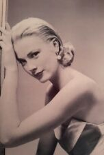 GRACE KELLY ACTRESS YOUNG ICONIC A4 POSTER PICTURE PRINT A4 WALL ART 4