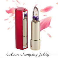 Long Lasting Waterproof Lipstick Balm Moisturizer Jelly Flower Color Changing