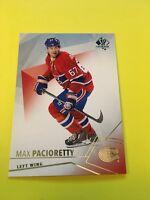 Max Pacioretty Canadiens 2015-2016 SP Authentic #59