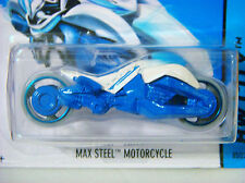 2014 HOT WHEELS - MAX STEEL MOTORCYCLE - 1/64 - SHORT CARD