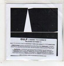 (GB663) Gulp, I Want To Dance - 2013 DJ CD