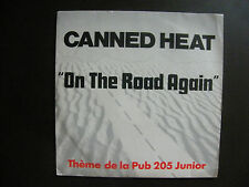 "SP CANNED HEAT ""On the road again"" Liberty 2042077 France Reissue (1990) Pub 205"
