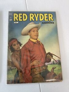 Dell Comics: Red Ryder 1951 - Golden Age Western Fred Harmon