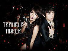 TROUBLE MAKER 1ST MINI ALBUM  Hyun A(4Minute) + Hyunseung (BEAST)