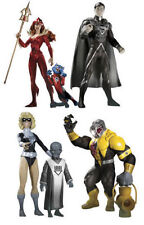 DC DIRECT BLACKEST NIGHT SERIES 7 4 FIGURE SET! MERA! ARKILLO! SUPERMAN! TERRA!