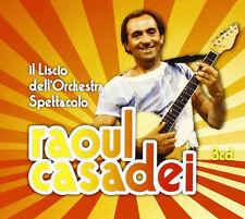 RAOUL CASADEI - IL LISCIO DELL'ORCHESTRA - 3 CD NUOVO SIGILLATO