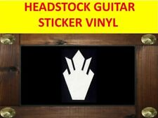 HEADSTOCK CROWN WHITE SG STICKER GUITAR VISIT OUR STORE WITH MANY MORE MODELS