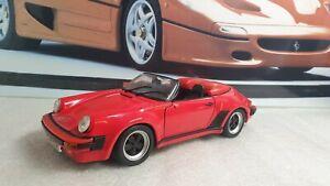 MAISTO MODELS - 1989 PORSCHE 911 SPEEDSTER - 1/18 SCALE MODEL CAR - UNBOXED
