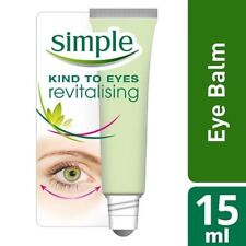 NEW Simple Kind to Eyes Revitalising Eye Roll-On 15ml / Fast & Free Delivery