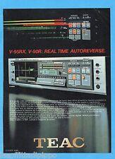 QUATTROR983-PUBBLICITA'/ADVERTISING-1983- TEAC V-95RX