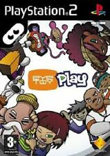 EYE TOY PLAY PLAYSTATION 2 GAME PS 2 GIOCO USATO SENZA SCATOLA