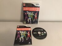 Just Dance 2 Nintendo wii games console video Game complete