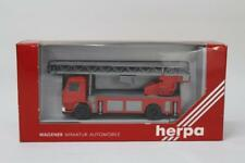 Herpa 863002 Scania Fire Turntable Truck LHD 1/87 Scale HO Gauge Plastic W10
