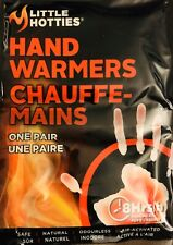LITTLE HOTTIES 4pk (8 HAND WARMERS) 8-hour heat Skiers Hunters Campers Sports