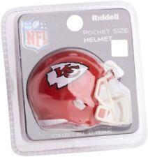 Kansas City Chiefs NFL Helmet Riddell Pocket Pro Speed Style