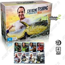 Extreme Fishing DVD : Mega Collection : Robson Green : Brand New 15 Disc Boxset