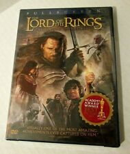 The Lord Of The Rings: The Return Of The King (Dvd, 2004, 2-Disc Set) Fullscreen