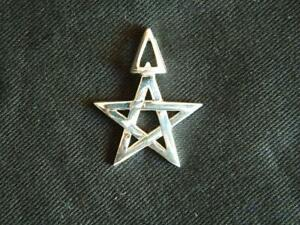 Wiccan 3rd Degree Pendant/925 Sterling Silver with gift bag/Magick/Pagan/Wiccan/
